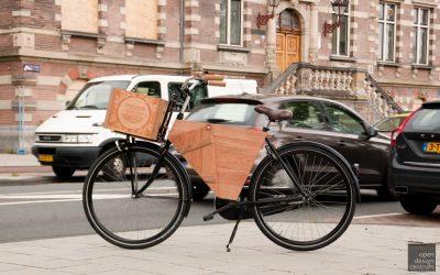 op maakt gemaakte presentatie fiets